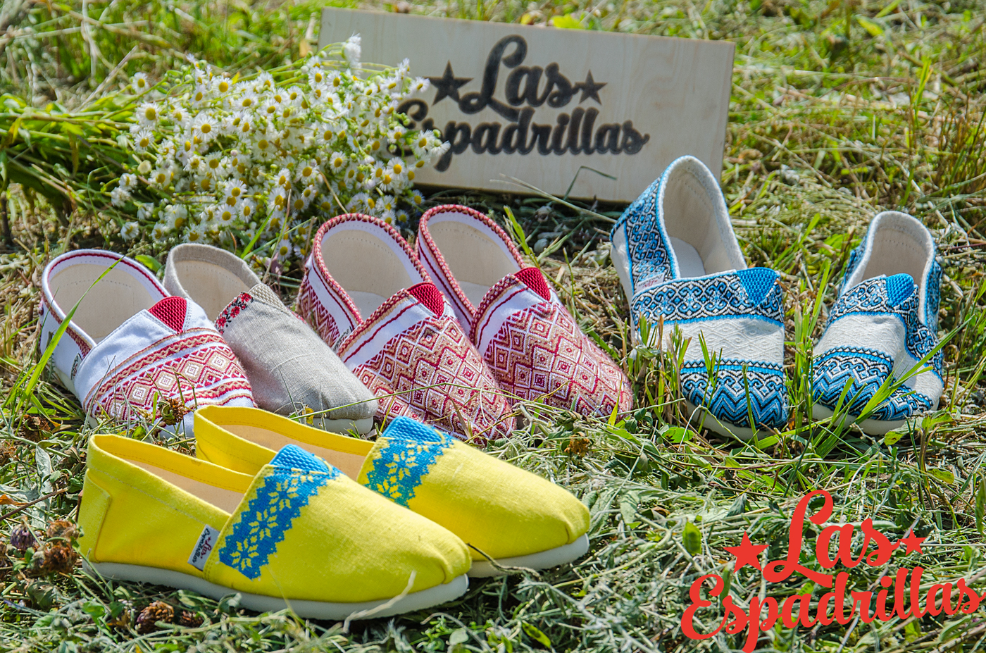 The new collection Las Espadrillas vishivanka