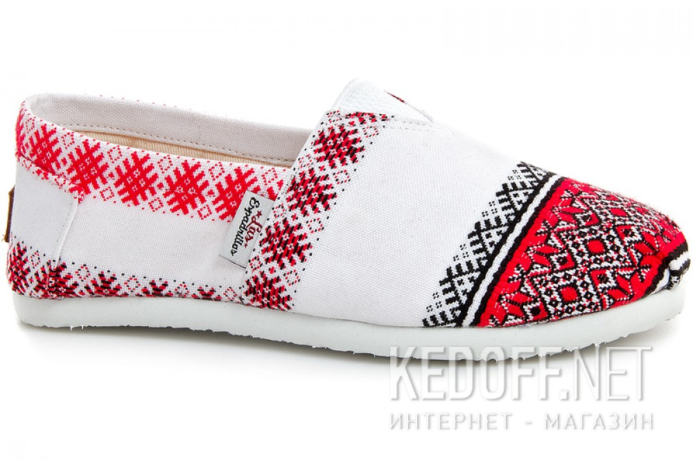 Embroidery shoes Las Espadrillas 3015-53