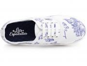 Canvas shoes Las Espadrillas V8214-577287TL 4