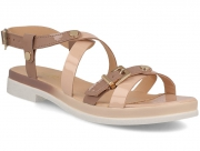 Strap sandal Las Espadrillas 032/2W-1845 0