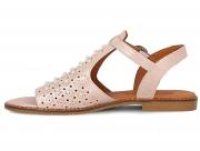 Strap sandal Las Espadrillas 0378-61-53 2