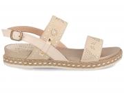 Sandals Las Espadrillas 0428-636-02 1