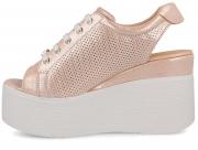 Strap sandal Las Espadrillas 045-T/6W-34 2