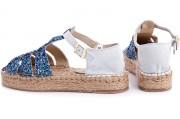 Strap sandal Las Espadrillas 1443-40 1
