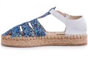 Strap sandal Las Espadrillas 1443-40 2