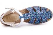 Strap sandal Las Espadrillas 1443-40 5