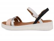 Strap sandal Las Espadrillas 2462 2