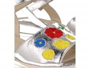 Strap sandal Las Espadrillas 009-602-14 4