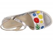 Strap sandal Las Espadrillas 009-602-14 5